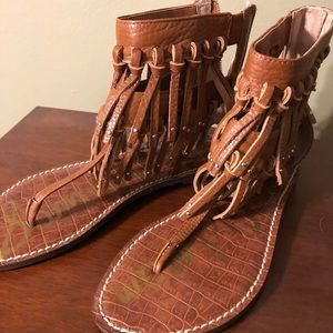 Sam Edelman fringe sandals-NEW-Sz 6